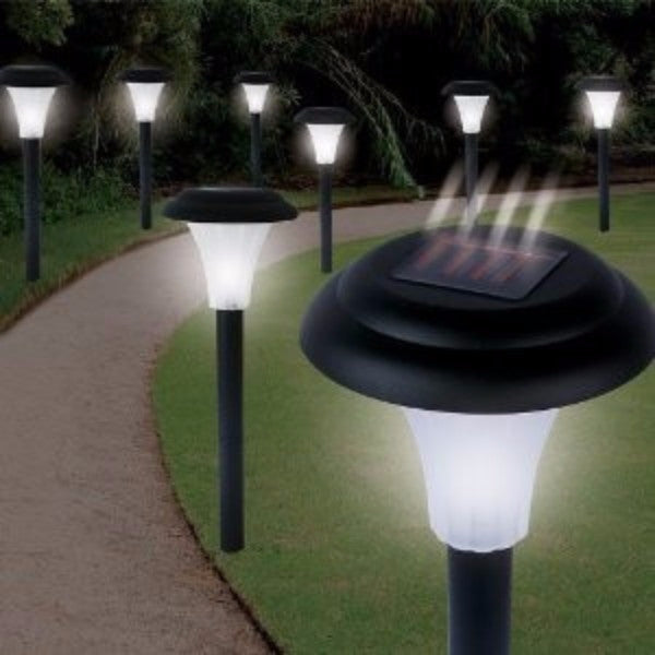 Set of 16 Solar Powered LED Accent Lights - YourGardenStop