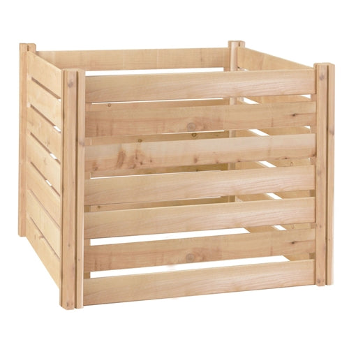174-Gallon Wooden Compost Bin made from Eco-Friendly Cedar Wood - YourGardenStop