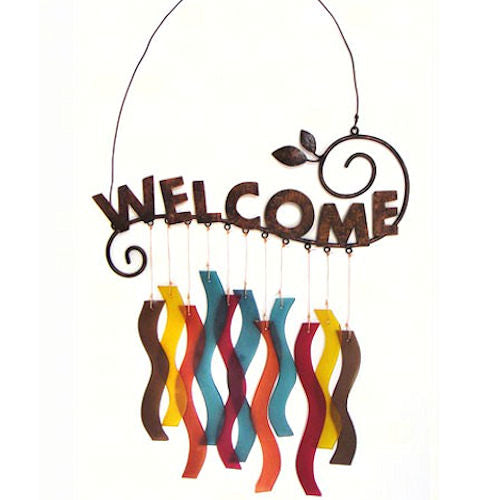 Welcome Windchime by Gift Essentials - YourGardenStop