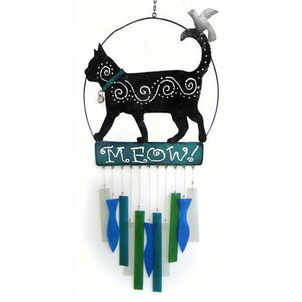 Kittie Meow Wind Chime - YourGardenStop