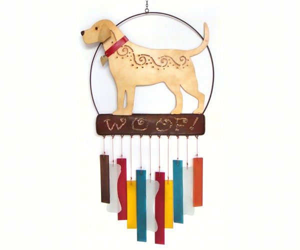 Lab Woof Wind Chime - YourGardenStop