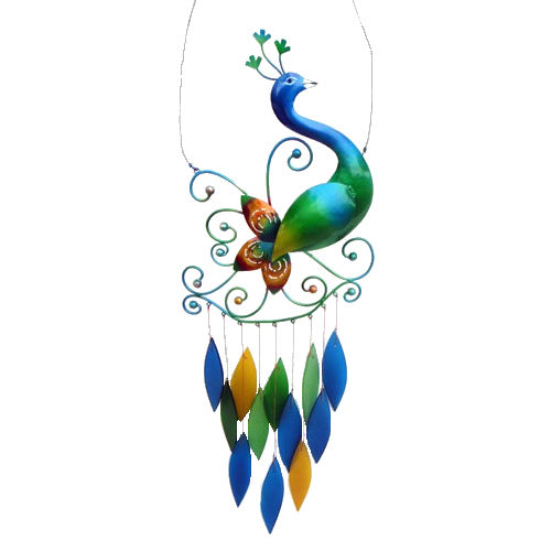 Peacock Wind Chime - YourGardenStop
