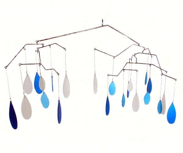 Glass Raindrops Mobile - YourGardenStop