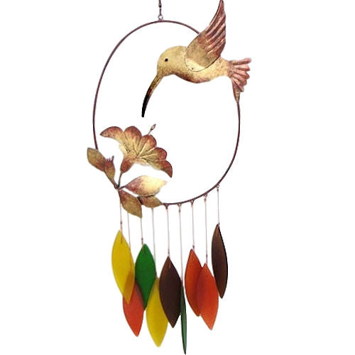 Classic Hummingbird Chime by Gift Essentials