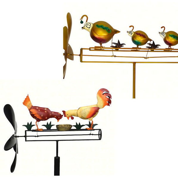 Whirligig (Quail Family, Pecking Chickens)