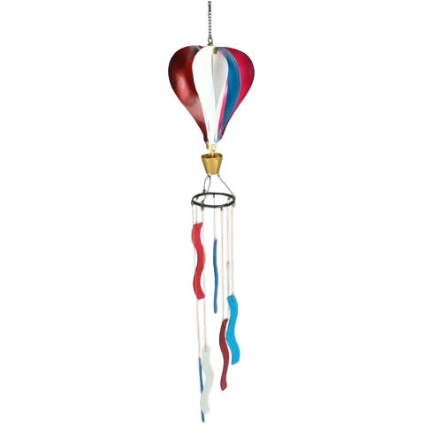 Patriotic Hot Air Balloon Windchime - YourGardenStop