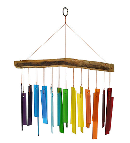 Color Spectrum & Driftwood Chime - YourGardenStop