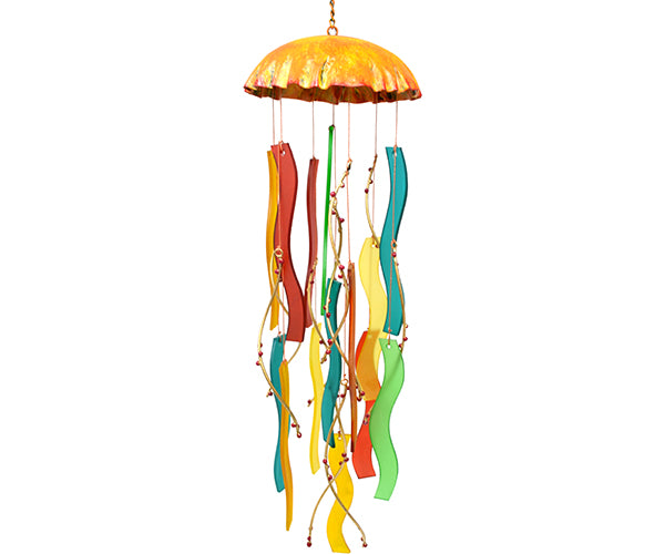 Coral Jellyfish Wind Chime - YourGardenStop