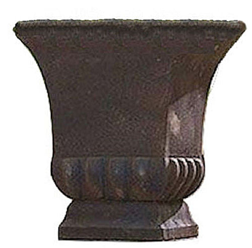 Rustic Metal Urn Style Garden Planter for Indoor or Outdoor Use - YourGardenStop