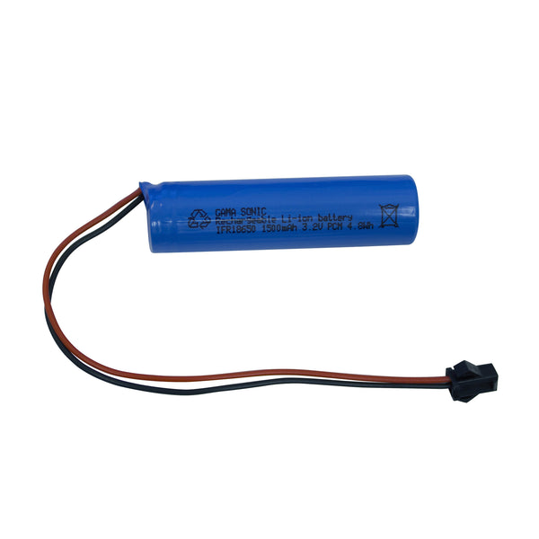 Gama Sonic Replacement Lithium-Ion Battery for 3.2v/1500mah