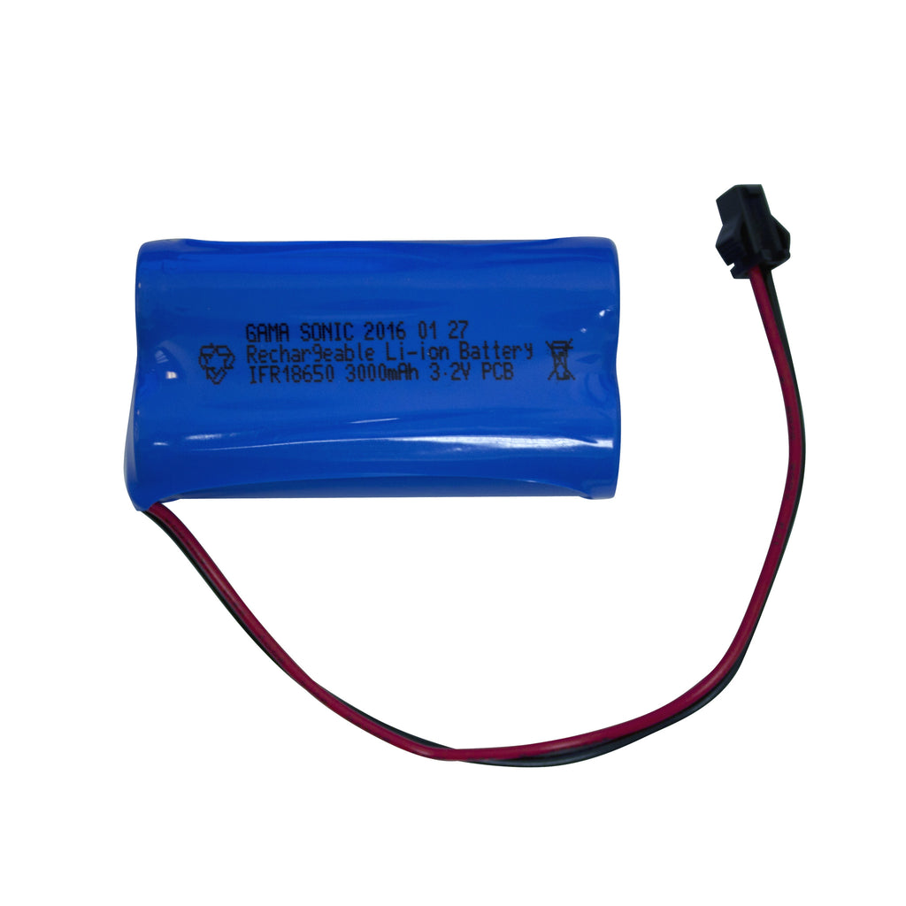 Gama Sonic Replacement Lithium-Ion Battery for 3.2v/3000mah