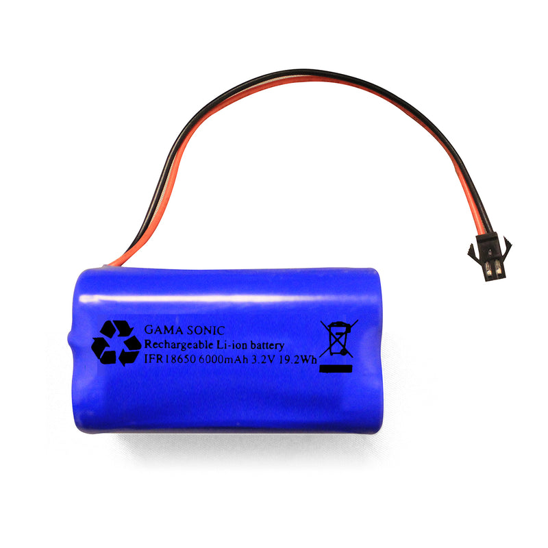 Gama Sonic Replacement Lithium-Ion Battery 2PK 3.2V/6000ma - YourGardenStop