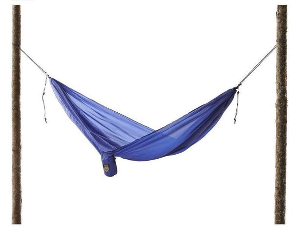 Royal Blue Polyester Ultralight Hammock - 19.5 Feet Long - YourGardenStop