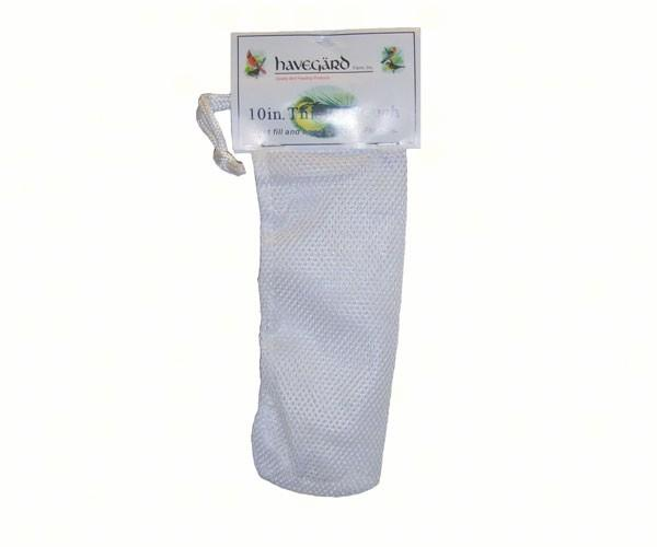 Havegard Nyjer Sacks in White (10in & 18in) - YourGardenStop