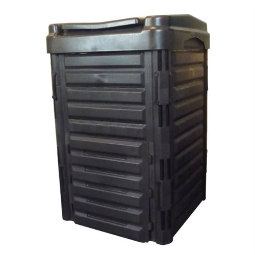 Heavy Duty Black Plastic Compost Bin for Home Garden Composting 80 Gallon - YourGardenStop