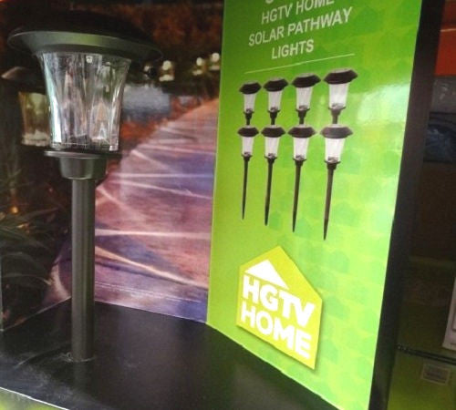 8-Piece Outdoor Solar Lights and Rechargeable Batteries - YourGardenStop