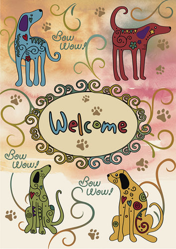 Animal Themed Garden Flags (Variety to choose from) - YourGardenStop