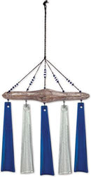 Ocean Mist Sea Glass Wind Chime by Sunset Vista - YourGardenStop