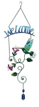 Hummingbird Welcome Sign by Sunset Vista - YourGardenStop