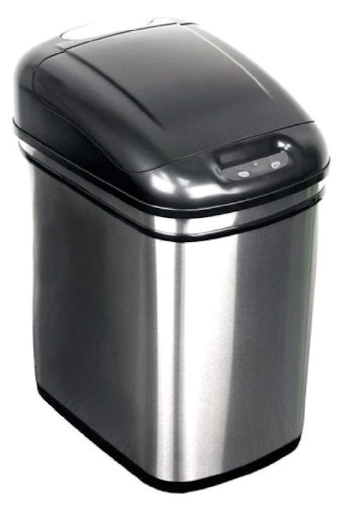 6.3 Gallon Kitchen Infrared Touchless Automatic Motion Sensor Lid Open Trash Can - YourGardenStop