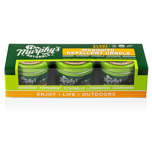 Murphy's Mosquito Repellent Mini-Trio Candle Set (3 candles at 3.5oz.) - YourGardenStop