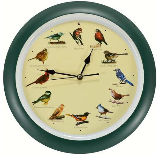 Original 13 inch Singing Bird Clock Anniversary Edition - YourGardenStop