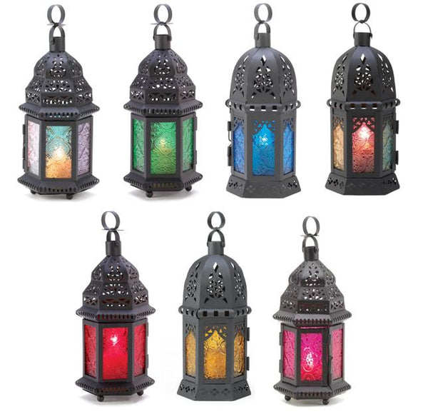 Moroccan Glass Lanterns - YourGardenStop