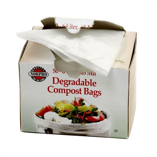Bio-Degradable Compost Bags, 50 Pieces - YourGardenStop