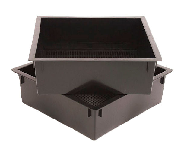 Worm Factory Additional Trays in Black, Green, Terra - YourGardenStop