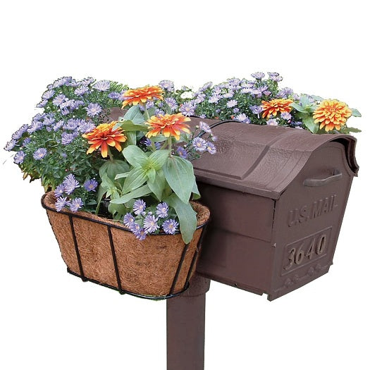 Mailbox Hanging Flower Planter with Coco Mat - YourGardenStop