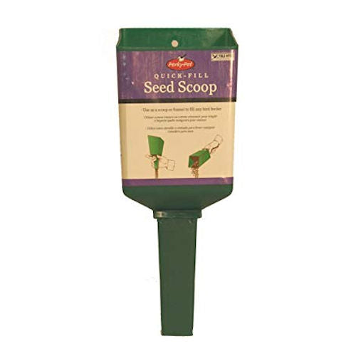 Quick Fill Seed Scoop by Perky Pets - YourGardenStop