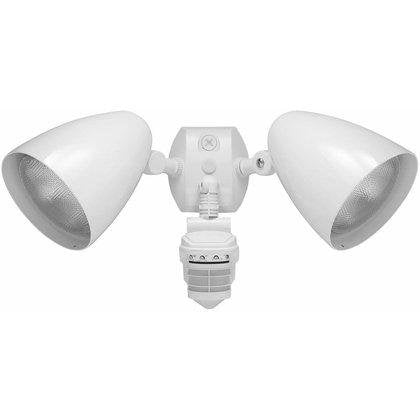 Outdoor Security 2 Light LED Floodlight with 360 Degree Motion Sensor - YourGardenStop
