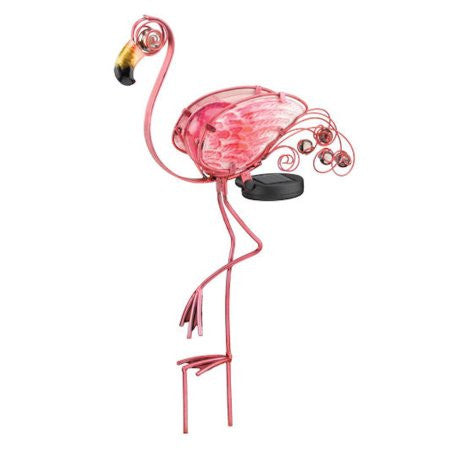 "21"" Solar Flamingo Stake by Regal"