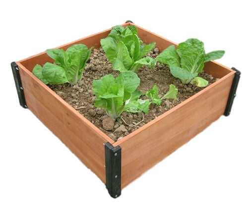 3ft x 3ft Raised Garden Bed Planter Box- 12-in High