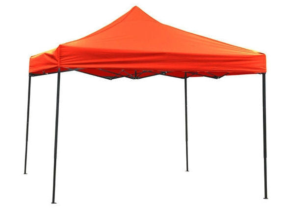 Red 10-Ft x 10-Ft Outdoor Sun Shade Canopy Tent
