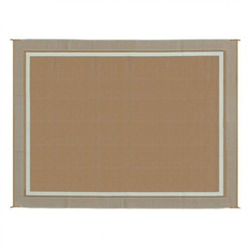 9' x 12' Outdoor Mat with Modern Double Border Design - YourGardenStop