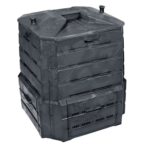 Black Plastic Compost Bin Composter for Home Garden Composting - 94 Gallon - YourGardenStop