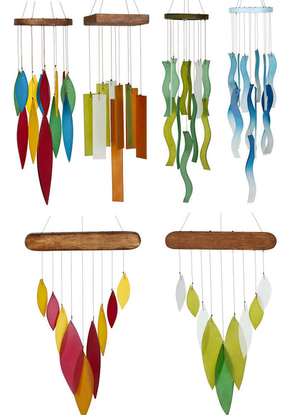 Sea Glass Chime Collection by Woodstock Chimes (Variety) - YourGardenStop