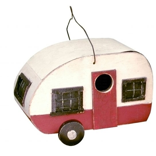 Mother-In-Law Suite Camper Birdhouse by Songbird Essentials - YourGardenStop