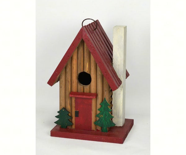 Mountain Cabin Birdhouse by Songbird Essentials - YourGardenStop