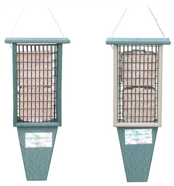 Songbird Essentials Double Suet Feeder