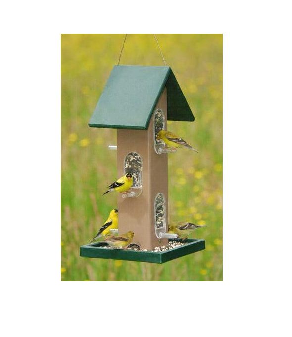 Tube Feeder with seed Tray - YourGardenStop