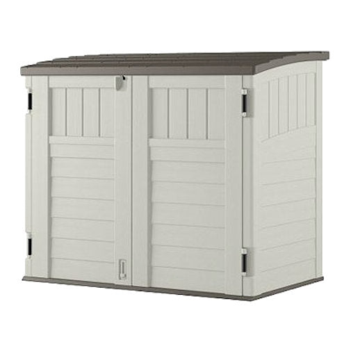 Outdoor 4-ft x 2-ft Locking Storage Shed with Easy Lift Lid