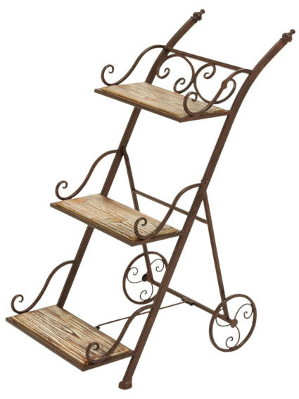 3 Tier Ladder Style Planter Stand - YourGardenStop