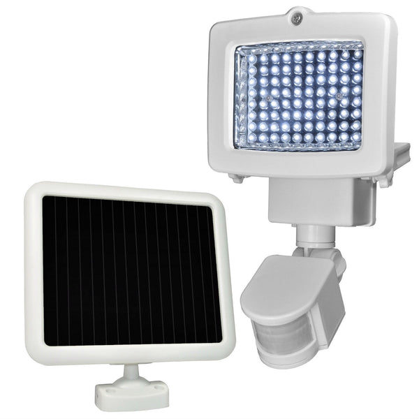 Weatherproof 80-LED Solar Powered Motion Sensor Light - YourGardenStop