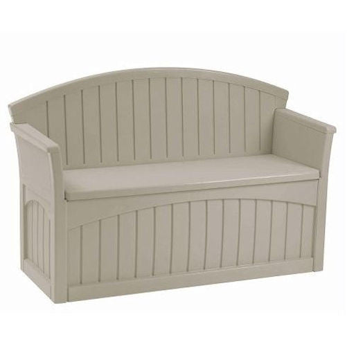 Outdoor Patio Garden Bench with 50-Gallon Storage Space Under Seat - YourGardenStop