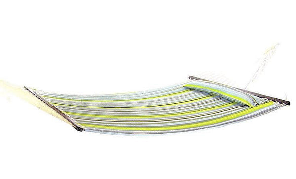 Heavy Duty Cotton Rope Hammock with Carry Storage Bag