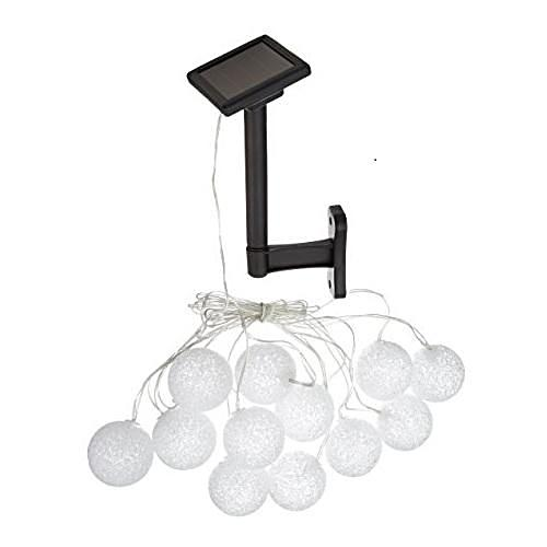 Set of 12 Solar String Luminous Glow Lights - YourGardenStop