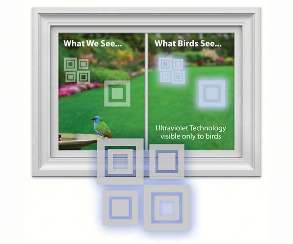 Modern Square Decal (4 per package) by Window Alert - YourGardenStop