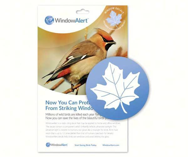 Maple Leaf (4 per package) by Window Alert - YourGardenStop